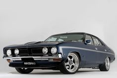 ◆ Visit MACHINE Shop Café... ◆ ~ Aussie Custom Cars & Bikes ~ (1973 XB Ford Falcon GS Sedan)