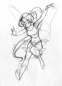 Disney Fairies — Beautiful character work by Caterina Giorgetti