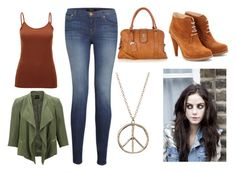 """""""verwandlung"""" by vanessa-m-108 ❤ liked on Polyvore featuring SELECTED, J Brand, Oasis and Opening Ceremony"""