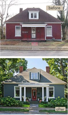 Amazing Quirky Cottage Makeover. Small House ExteriorsExterior RemodelHome ...