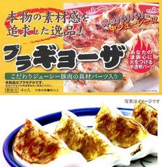 Forget Gundams, Get a gyoza model kit nad build your own gyoza!