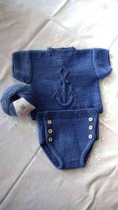 Ropa de bebe Patron gratis ancla3