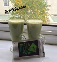 Delish Tg #Matcha fuels a busy day at #drinktg HQ.