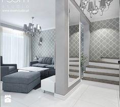 Mieszkanie z akcentami glamour - Hol / przedpokój, styl nowojorski - zdjęcie od ROOM STUDIO