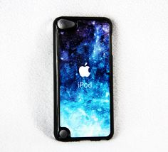 Abstract  Blue iPod Touch 4/5 Case by geekcaser on Etsy, $9.99 To go with my dream iPod?