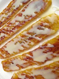Mexican Fried Bananas | Platanos Fritos | Easy Mexican Desserts