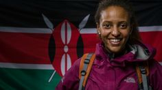 Kenyan woman could become the 1st black African woman to scale Mt. Everest - Helen Kinuthia is a Kenyan team member of Expedition Everest