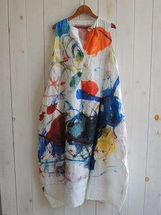 Barbring Summer Dresses 1 Sundress Daily V Neck Floral-Print Sleeveless Casual Dresses Linen Dresses, Casual Dresses, Summer Dresses, Midi Dresses, Floral Dresses, Diy Fashion, Fashion Outfits, Fashion Design, Painted Clothes