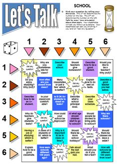 Free downloadable board game.to practice conversation skills in special ed or esl classrooms