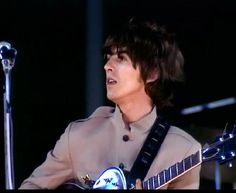 George Harrison<3 (Shea Stadium) (Bing Images!)