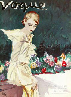 Vogue, July 12th 1933 Art Print by Carl Erickson at King & McGaw