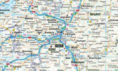 Suiza, mapa de carreteras plastificado. Escala 1:400.000. Borch.  #ParquedeVigeland