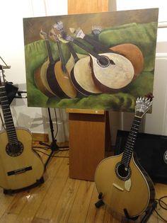 O Armazém esteve entre fados e guitarradas na Biblioteca Operária Oeirense, ao lado da artista plástica Idília Silva! #fadoseguitarradas #bibliotecaoperáriaoeirense #oeiras #exposição #exhibition #Fado #IdíliaSilva