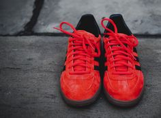 adidas Originals Spezial - Red, Black & Gum | KicksOnFire