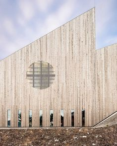 The New Community Church In Knarvik Reiulf Ramstad Arkitekter Is Carefully  Adapted To An Existing Hillside