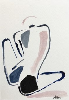 Eduardo NG Collective Studio Mini Nude 23 Gouache Quick but successful way of handling life drawing Life Drawing, Figure Drawing, Painting & Drawing, Painting Inspiration, Art Inspo, Art And Illustration, Illustrations, Art Sketches, Art Drawings