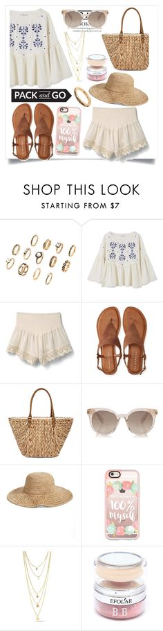 """🌼🌼🌼"" by catcorn ❤ liked on Polyvore featuring MANGO, Aéropostale, Straw Studios, Nordstrom and Casetify"