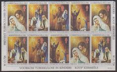 SA Christmas 1981 - Block Of 10 Stamps