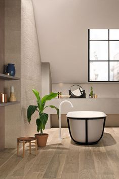 Bathroom tiles: ceramic and porcelain stoneware - Marazzi 7465