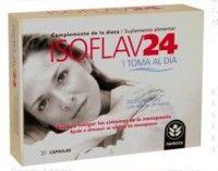 SOFLAV24    Ofrece mayor COMODIDAD y EFICACIA, para ayudar a mitigar los síntomas de la menopausia.   Más información  Preparado a base de soja con isoflavonas de acción retardada, gracias a su liberación sostenida, aporta 70 mg de isoflavonas de soja.