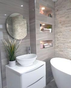 Bathroom Tub: The Complete Guide to Choosing Your Bathroom - Home Fashion Trend Bathroom Design Luxury, Bathroom Design Small, Bathroom Layout, Home Room Design, Dream Bathrooms, Bathroom Inspiration, Gothic Steampunk, Steampunk Clothing, Victorian Gothic