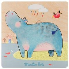 Hippo puzzle Moulin Roty