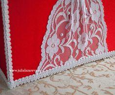 """Свадебный сундучок для денег """"Амелия"""" в красном цвете #wedding #weddingdecor #weddingaccessories #свадьба #свадебныеаксессуары"""