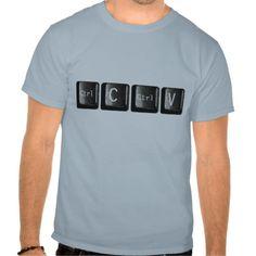 Control C Ctrl V Keys Keyboard Computer T Shirt, Hoodie Sweatshirt