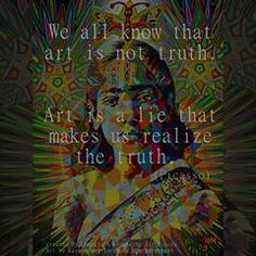 #Quotepicture with 'Krishnamurti digital - 2012' by #Karmym and #ConsciousExpandingArtPieces #artquote #krishnamurti #artpainting #Picasso #creativity #mixedmedia #visionaryart #sacredgeometry #psychedelic #yogicart #truth #popart #popartist #poparte #artepop #popartstyle #poparts #portraitpopart#portraitart #portraitpainting #portrait_competition #figurativeart #contemporaryart #colourfulpainting #artes #artlovers Arte Pop, Visionary Art, Sacred Geometry, Figurative Art, Picasso, Picture Quotes, Psychedelic, Art Quotes, Pop Art