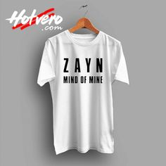 cc7e2205 Zayn Malik Mind Of Mine Custom T Shirt