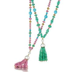 Tassel Necklaces. Verdura