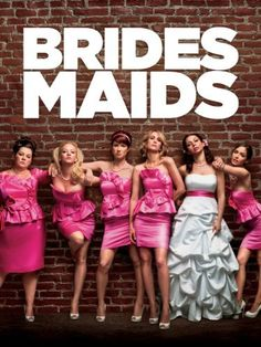 Bridesmaids: Kristen Wiig  From the producer of Knocked Up, Bridesmaids takes Maid of Honor, Annie (Kristen Wiig), and four wild bridesmaids on a hilarious ride to their friend's wedding.  http://www.amazon.com/dp/B005KL3R6I/ref=cm_sw_r_pi_dp_fWXprb1WMJX6P