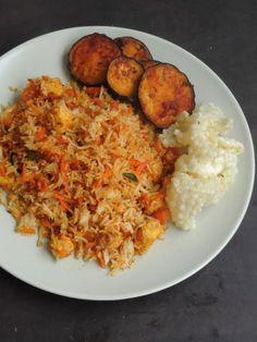 Carrot Rice Recipe, Carrot Recipes, Rice Recipes, Vegetable Recipes, Indian Food Recipes, Vegetarian Recipes, Ethnic Recipes, Vegan Meals, Rice Side Dishes