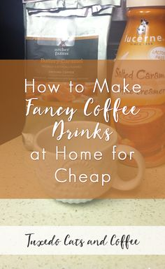 The last time I went to Starbucks, I paid $5.43 for a Frappuccino. And I wanted to cry, because five bucks for coffee is a LOT. It's gotten kind of ridiculous. Here's how I make fancy coffee drinks at home for cheap.