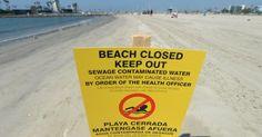Cierran playas de California por derrame de 9 millones de litros de aguas negras