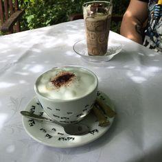 05.08. - ein Kaffeepäuschen nach einer tollen Radtour macht mich glücklich #100happydays #happinesschallenge