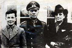 Josef Pan, 72, is to publish the story of his grandmother Walburga's love affair with Rommel. He said the Desert Fox spurned her and married Lucie Mollin in 1916. Above, Lucie with Rommel and their son Manfred