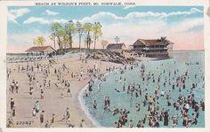 Beach at Wilson's Point, So. Norwalk, Conn.