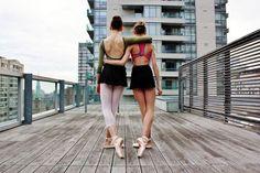 Encontrar a tus mejores amigas en tus clases de ballet