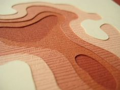 layered papercuts   by marnie karger