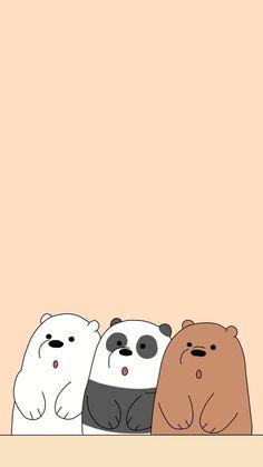 Cute Panda Wallpaper, Panda Wallpaper Iphone, Cute Couple Wallpaper, Cute Pastel Wallpaper, Disney Phone Wallpaper, Bear Wallpaper, Kawaii Wallpaper, Cute Wallpaper Backgrounds, We Bare Bears Wallpapers