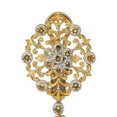 Buccellati's tanzanite earrings   Vogue Paris