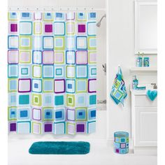 your zone peva shower curtain this matches the bed i have