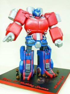 Optimus Prime Cake, totally want