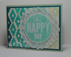 Creating a background with Photopolymer stamps, Starburst Sayings, Starburst framelits, Eye Catching Ikat stamps