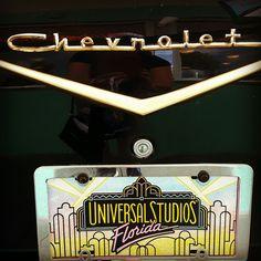 Old cars in Universal Studio Orlando -Disney World
