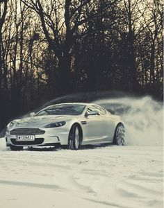 #aston #martin #dbs - playing in the snow New Hip Hop Beats Uploaded EVERY SINGLE DAY  http://www.kidDyno.com
