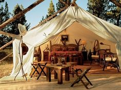 ...now THIS is camping :)