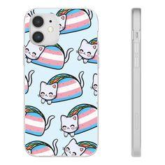 Transgender Cat Cute Taco Phone Case - iPhone 12