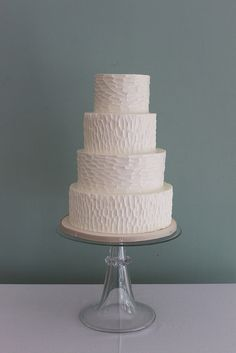 Wedding Cake Idea: The Textured Cake | Cheryl Barker |  Mother of the Bride Blog | Creative Commons Flickr photos by Whipped Bakeshop
